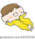 자고있는 아기 62526593