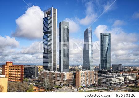Spain financial district 62530126