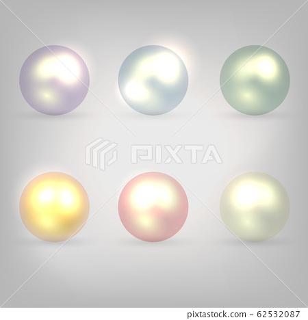珍珠背景 62532087