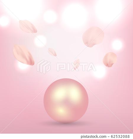 珍珠背景 62532088