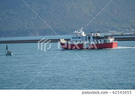 Megijima Ferry departing from Takamatsu Port 62543055