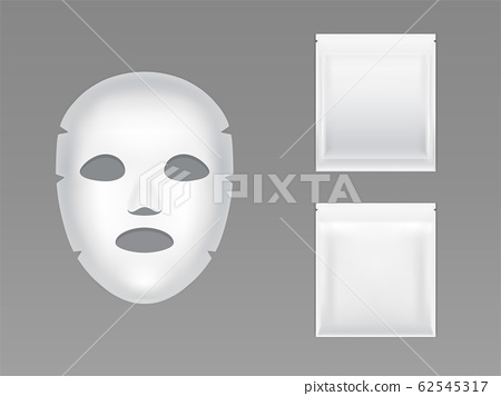 Moisturizing sheet face mask realistic 62545317