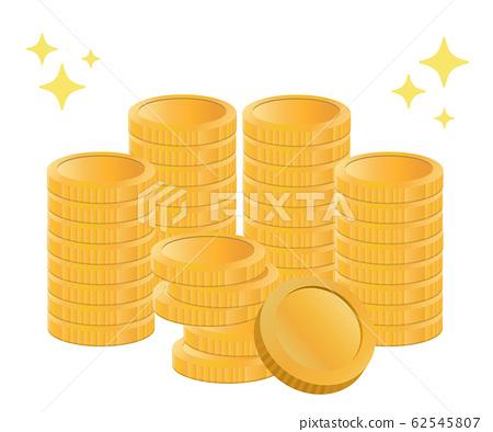 금화 동전, 금, 반짝이 투자의 이미지 62545807