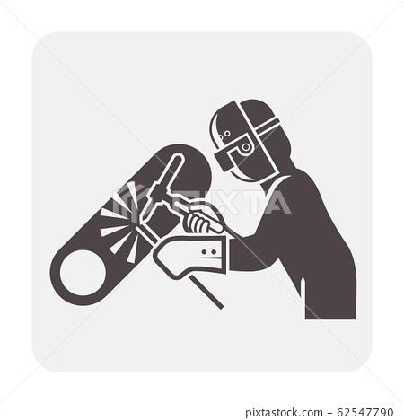 welder welding icon 62547790