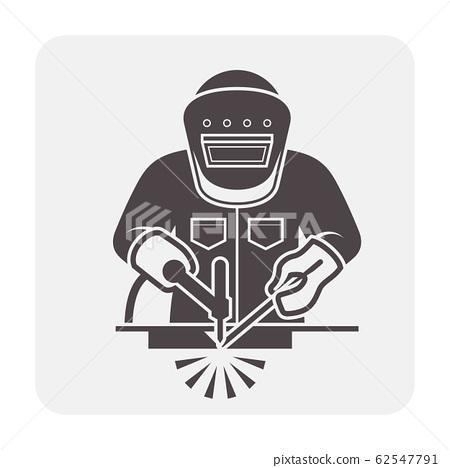 welder welding icon 62547791