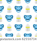 kit baby milk in clear bottle with rubber pacifier 62550734