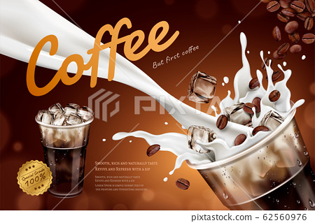 Cold latte ads 62560976
