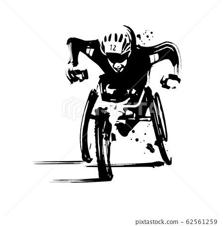 Wheelchair marathon 62561259