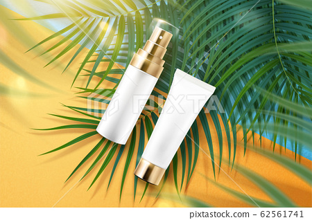 Sunscreen product ads 62561741