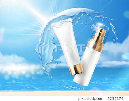 Sunscreen product ads 62561744