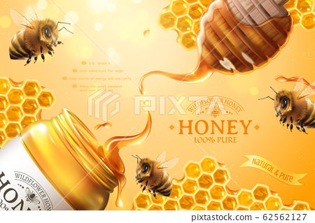 Pure honey ads 62562127