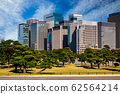 Cityscape of Tokyo City Center at day. Japan. Business district. 62564214