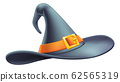 Halloween Witch Hat Cartoon 62565319
