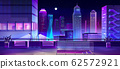 Lounge area on city house roof cartoon 62572921