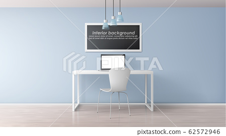Home office workplace realistic mockup 62572946