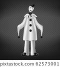 Pierrot italian comedian sad romantic character 62573001