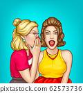 gossip of girls, excited sexy women 62573736