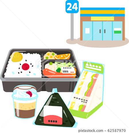편의점 냉장 식품 62587970