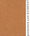 Cork board texture background material 62589347