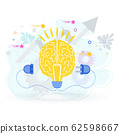 Connect the brain to an electrical network. 62598667