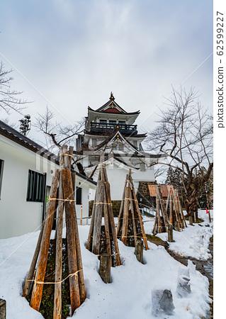 Winter in Japan Yokote City, Akita Prefecture Yokote Castle Ruins in Snowscape 62599227