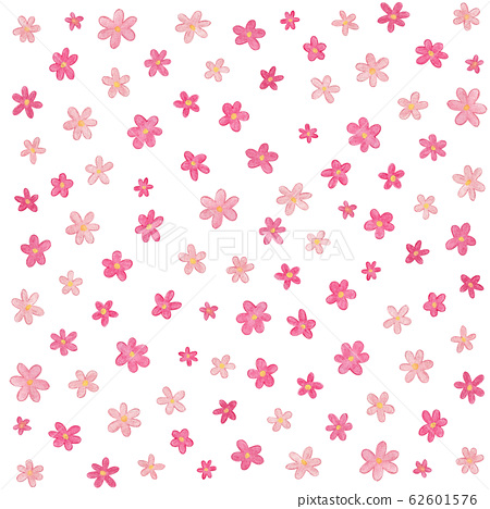 pink watercolor floral pattern 62601576