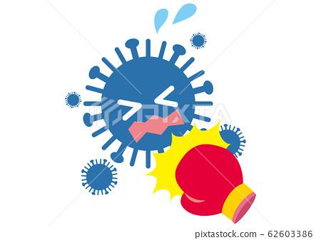인플루엔자 바이러스 격퇴 62603386