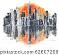 Famous Skyline of downtown New York, Brooklin 62607209