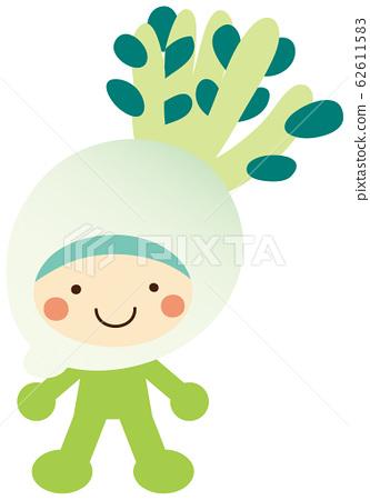 Kigurumi Vegetable Character @ Radish 62611583