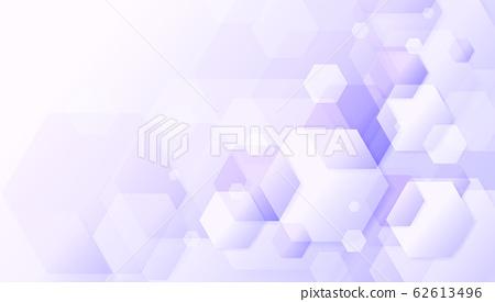 Abstract geometric light purple hexagonal design background. 62613496