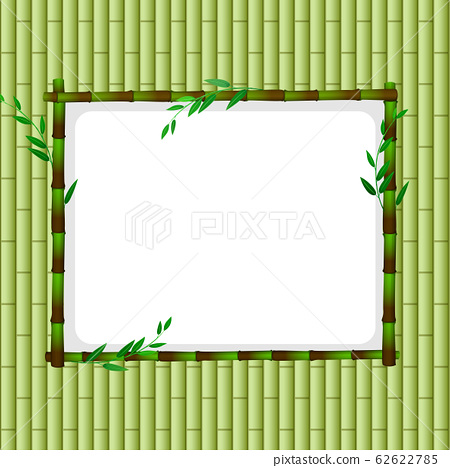 Frame template with green babmoo 62622785