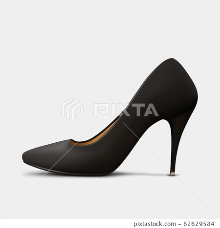 black woman shoe side view 62629584