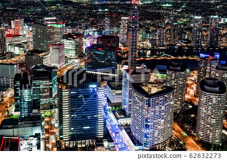 밤의 도시 풍경 62632273