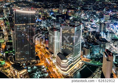 City scenery of the night 62632912