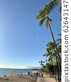 [Hawaii] Stroll along the beach and relax. Thank you blue sky, blue sea 62643147