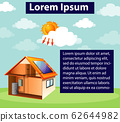 Diagram showing how solar cell works at home 62644982