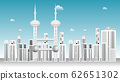 Cityscape and Blue sky background. 62651302