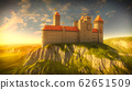 Medieval Castle on the Rock 62651509