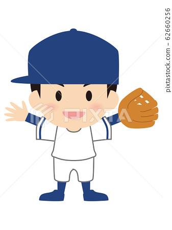 야구 내야수 올드 스타일 62660256