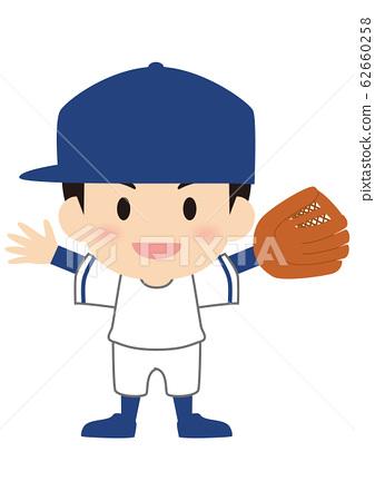 야구 외야수 올드 스타일 62660258
