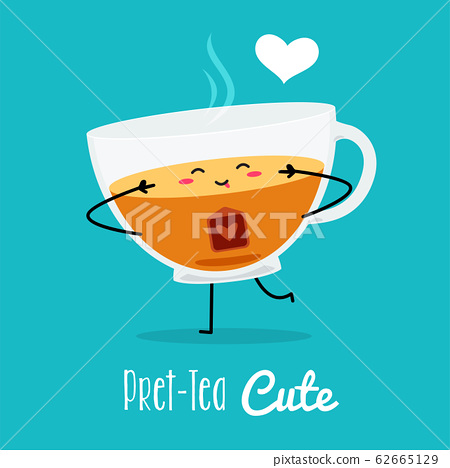A cute pose from a glass of tea. 62665129