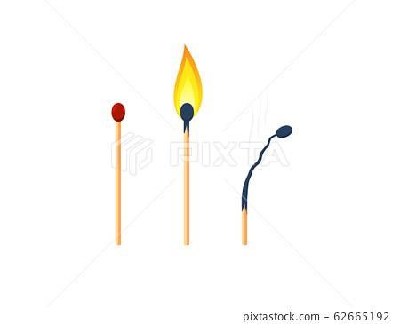 three version of matchsticks 62665192