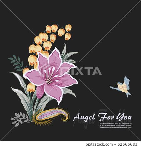 우아한 꽃 소재 조합 62666683