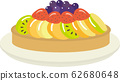 Fruit tart 62680648