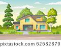 Modern House with Garden 62682879