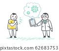 Concept of illness prevention.Vector flat illustration. 62683753