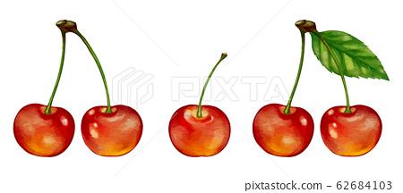체리 cherry의 일러스트 62684103