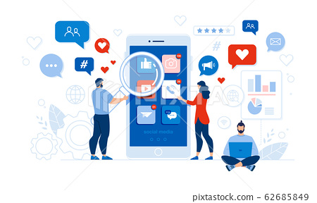People and Mobile Application Social Media Audit 62685849