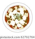 Illustration of Mapo Tofu 62702764