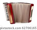 Retro accordion isolated 62706165